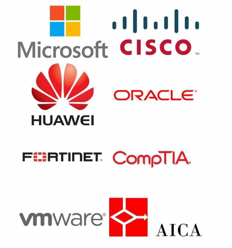 Certificazioni Cisco, Microsoft, CompTIA, VMware, Oracle, Fortinet