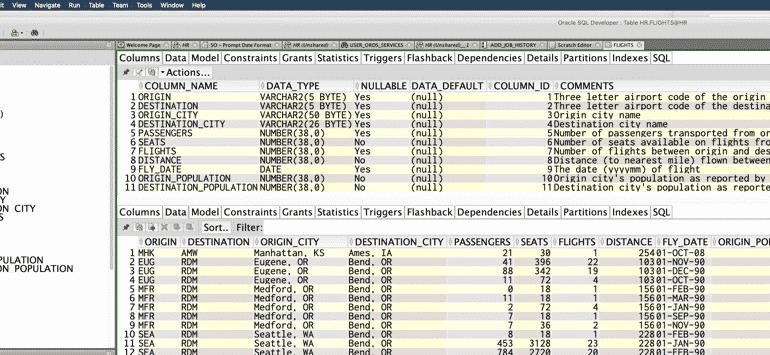 Linguaggio SQL Oracle Database