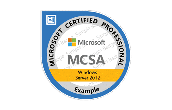 Corso Windows Server 2012 MCSA