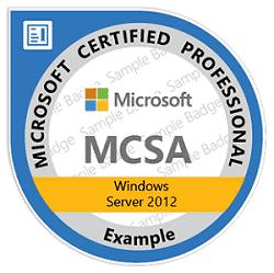Corso Windows Server 2012 MCSA, Corso MOC 20410 Installazione e configurazione di Windows Server 2012 Corso MOC 20411 Amministrare Windows Server 2012 Corso MOC 20412 Configurazione avanzata dei servizi di Windows Server 2012
