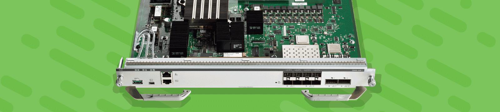 Scuola Vega Corso switch Cisco Catalyst 9000 ENC9k
