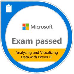 Corso Analyzing and Visualizing Data with Power BI