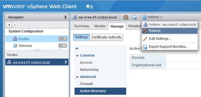 Corso VMware Assegnare Ruoli e permessi ad utenti di Active Directory per svolgere funzioni nel vcenter server appliance.