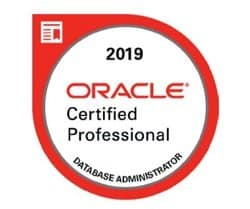 Oracle Database Administration 2019 Certified Professional certification, Esame 1Z0-082, Esame 1Z0-083, Oracle Database Administration