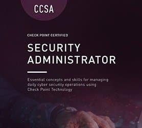 Corso Check Point CCSA - Certified Administrator