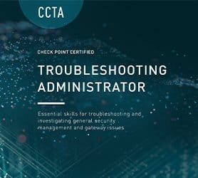 Corso Check Point CCTA - Certified Troubleshooting Administrator